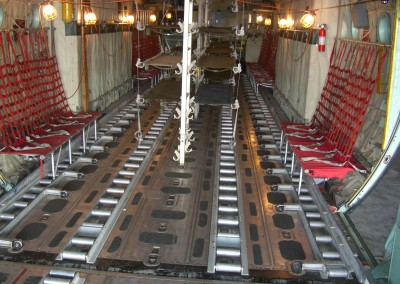 c-130 cargo compartment